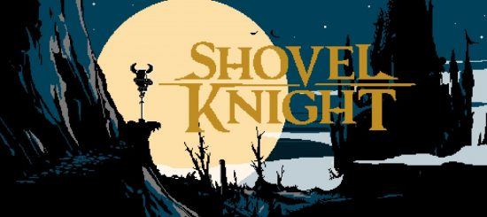 shovel knight artwork moon title screen