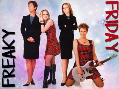 Freaky Friday affiche du film avec Lindsay Lohan et Jamie Lee Curtis