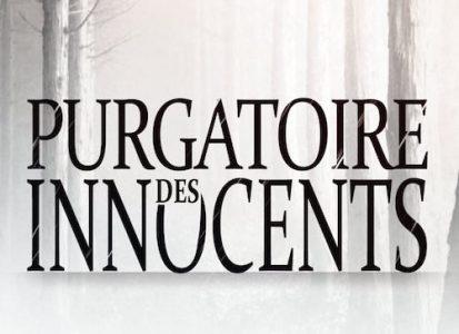Le Purgatoire des innocents jaquette du livre et logo