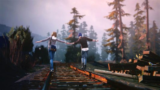 Life is Strange Max Chloé chemin de fer Band of Geeks