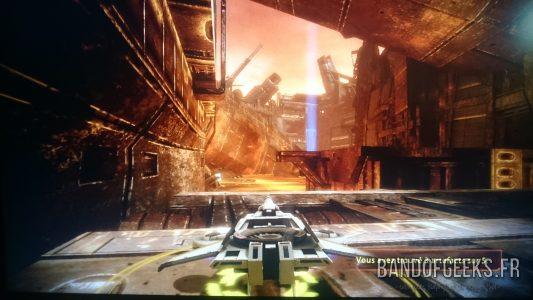 Mass Effect 2 mission en vaisseau pour récupérer des artefacts