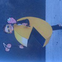 Pixelmania enfant portant un costume de Pac-Man