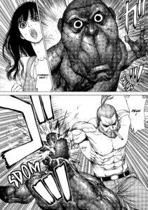 Terra Formars Asimov Asimov sauve Tatiana en éclatant un cafard géant à mains nues