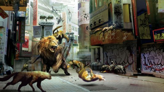 Tokyo Jungle Lion Hyene Band of Geeks