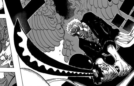 One Piece Zoro tranche en deux un adversaire