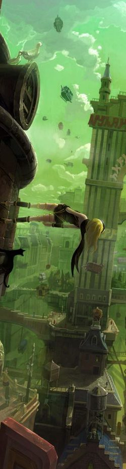 Gravity Rush Kat horizontale Band of Geeks