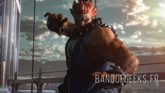 Akuma Gouki pose super art Tekken 7 Band of Geeks