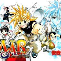 Mär manga les héros prennent la pose pour un chapitre
