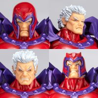 Amazing Yamaguchi Magneto Revoltech head close up tete gros plan Band of Geeks