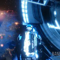 Mass Effect 3 Shepard dans l'espace