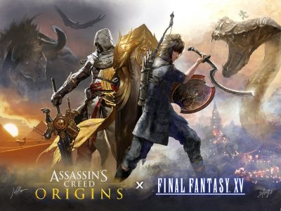 Final Fantasy XV Assassin's Creed Collaboration Band of Geeks