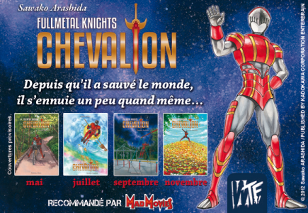 Fullmetal Knights Chevalion affiche tomes français Band of Geeks