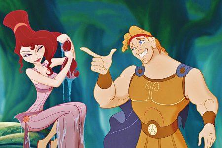 Hercule et Meg discutent