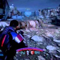 Mass Effect 3 Shepard tire sur des ennemis