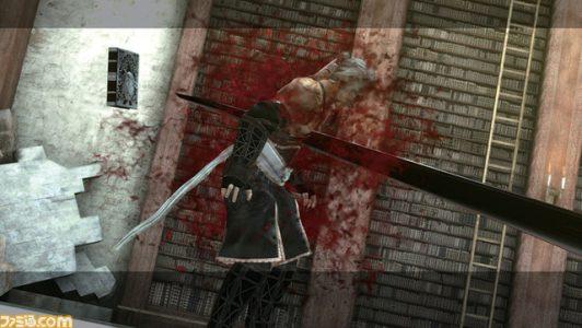 NieR Gestalt NieR se fait empaler près du grimoire Weiss