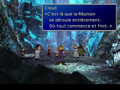Final Fantasy VII Cloud révèle la vérité à ses amis