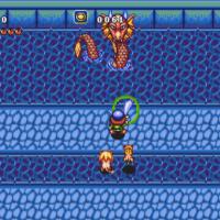 Soleil sur MegaDrive le héros affronte le Leviathan