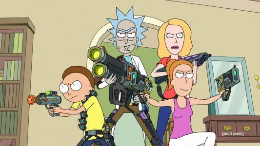 Rick et Morty la famille armée