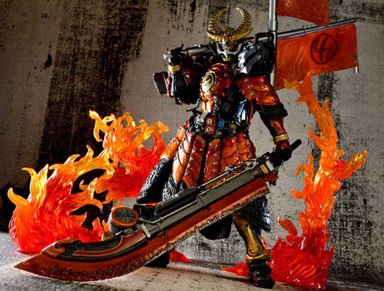 Bandai présente la S.I.C Kamen Rider Gaim Kachidoki Arms !