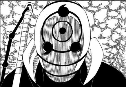 Naruto Tobi masqué en gros plan
