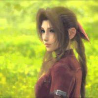 Final Fantasy VII Aerith prend la pose