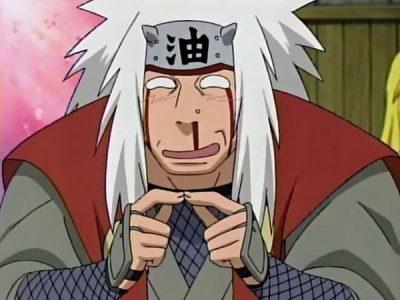 Naruto Jiraya saigne du nez