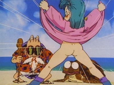 Dragon Ball Tortue géniale voir Bulma nue