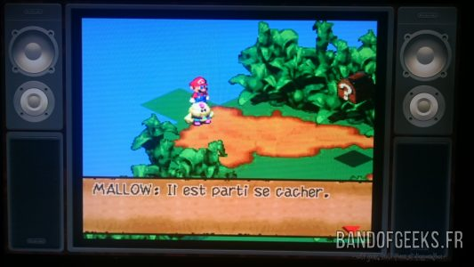 Super Mario RPG Mallow parle du pickpocket