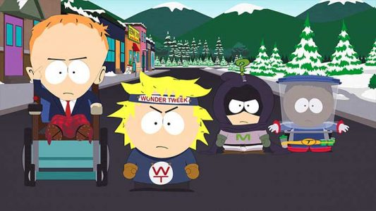 Timmy Tweek Mysterion Token South Park The Fracture but whole l'annale du destin Band of Geeks