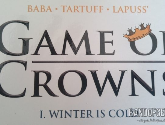 Game of Crowns titre de la BD