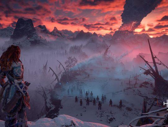 C'est déjà l'hiver avec Horizon Zero Dawn : The Frozen Wilds !