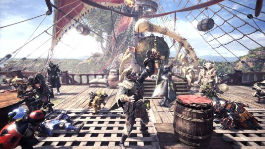 Monster Hunter World Bateau chasseurs celebration Band of Geeks