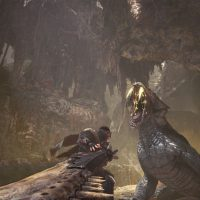 Monster Hunter World Monstre chasseur combat epee longue attaque Band of Geeks