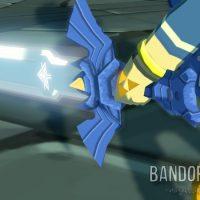 Wind Waker HD gros plan sur la Triforce du courage sur la main de Link