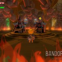 Wind Waker HD Link affronte des Darknuts entouré de flammes