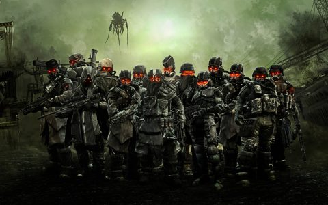 Killzone 2 Helgan Army Armee Helghast Band of Geeks