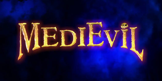 Medievil PS4 Logo