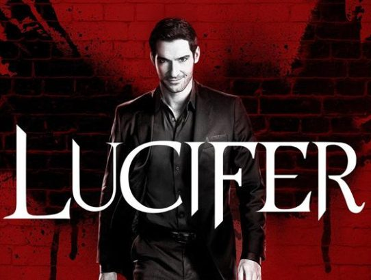 Lucifer logo avec diable