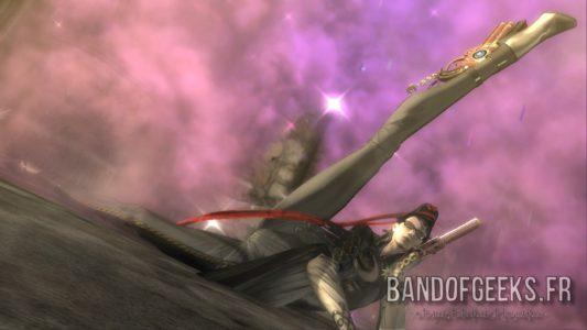 Bayonetta prend une pose sexy