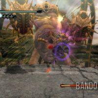 Bayonetta affronte un Boss