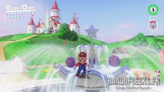 Critique Super Mario Odyssey royaume champignon