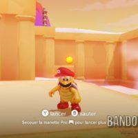 Super Mario Odyssey Mario en frère marteau