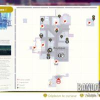Super Mario Odyssey carte du monde visité
