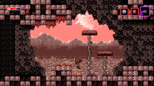 Axiom Verge Foothills Critique Band of Geeks