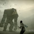 Shadow of the Colossus Wander devant le premier colosse