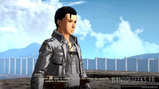 A.O.T.2 Héros qui ressemble à Aizen Sosuke