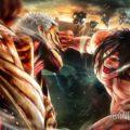 A.O.T.2 Eren attaque le titan cuirassé