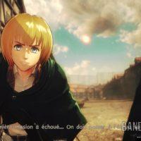 A.O.T.2 Armin et Jean discutent avec le héros