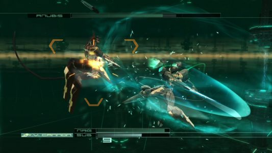Zone of the Enders combat contre Anubis