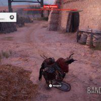 Assassin's Creed Origins Bayeka tué un soldat